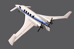 Conceito dos aviões de Beechcraft Starship 2000 Foto de Stock