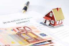 Conceito dos bens imobiliários. Foto de Stock