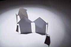 Conceito dos bens imobiliários. Imagens de Stock Royalty Free