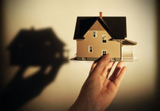 Conceito dos bens imobiliários Fotografia de Stock