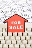 Conceito 6 dos bens imobiliários Fotos de Stock