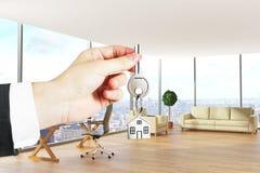 Conceito 6 dos bens imobiliários Imagens de Stock