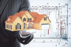 Conceito 6 dos bens imobiliários Imagens de Stock Royalty Free