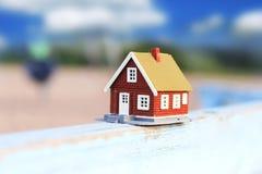 Conceito 6 dos bens imobiliários Foto de Stock Royalty Free