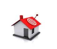 Conceito dos bens imobiliários Fotos de Stock Royalty Free