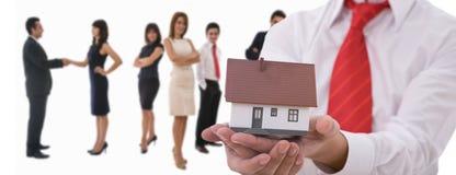Conceito dos bens imobiliários Foto de Stock Royalty Free