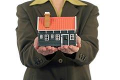 Conceito dos bens imobiliários Imagem de Stock