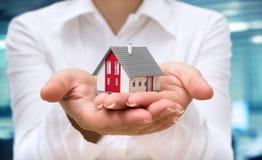 Conceito 6 dos bens imobiliários Fotografia de Stock
