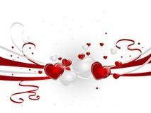 Conceito dos corações Fotografia de Stock Royalty Free