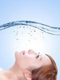 Conceito dos cuidados com a pele da beleza Foto de Stock Royalty Free