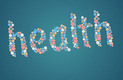 Conceito dos cuidados médicos - tabuletas Foto de Stock