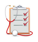 Conceito dos cuidados médicos Foto de Stock Royalty Free