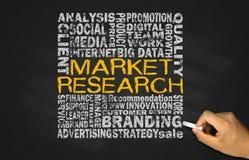 Conceito dos estudos de mercado Foto de Stock