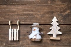 Conceito dos feriados de inverno Imagens de Stock Royalty Free