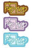 Conceito dos grafittis do hip-hop Ilustração Stock