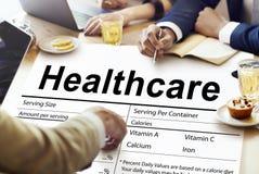 Conceito dos nutrientes dos cuidados médicos do bem-estar do suplemento à nutrição foto de stock