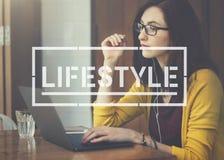 Conceito dos objetivos das ações do passatempo da vida do estilo de vida fotos de stock royalty free