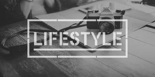 Conceito dos objetivos das ações do passatempo da vida do estilo de vida fotografia de stock royalty free