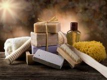 Conceito dos termas e do banho Fotografia de Stock Royalty Free