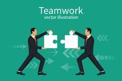 Conceito dos trabalhos de equipa do negócio Imagem de Stock