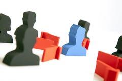 Conceito dos trabalhos de equipa, dos povos e dos ícones Imagem de Stock Royalty Free