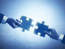 Conceito dos trabalhos de equipa e da integração Imagens de Stock Royalty Free