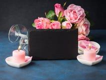 Conceito e cartão do dia do ` s do Valentim Imagens de Stock Royalty Free