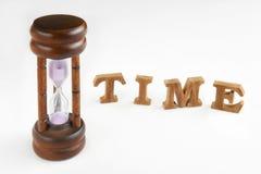 Conceito e tempo da gestão de tempo acima da ideia Fotografia de Stock