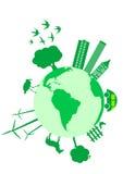 Conceito ecológico Imagens de Stock