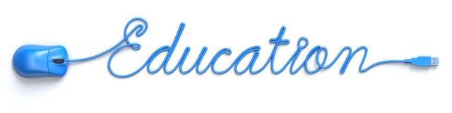 Conceito em linha da educação Foto de Stock Royalty Free