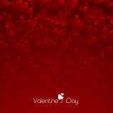 Conceito feliz da celebração do dia de Valentim Fotografia de Stock Royalty Free