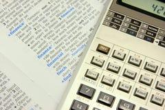 Conceito financeiro Fotos de Stock