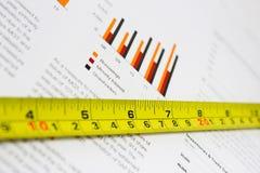 Avaliação dos resultados Fotografia de Stock