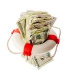 Conceito financeiro da ajuda Foto de Stock Royalty Free