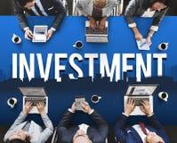 Conceito financeiro da gestão de riscos do negócio do investimento Imagem de Stock