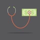 Conceito financeiro da verificação Imagens de Stock Royalty Free