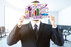 Conceito financeiro do crescimento Imagens de Stock