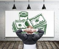 Conceito financeiro do crescimento e do sucesso Imagem de Stock Royalty Free