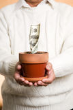 Conceito financeiro do negócio Fotografia de Stock Royalty Free