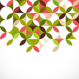 Conceito floral colorido abstrato do teste padrão, vetor Foto de Stock