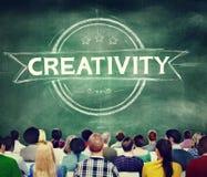 Conceito futurista criativo da inovação das ideias da faculdade criadora Foto de Stock