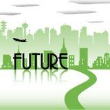 Conceito futuro Imagem de Stock Royalty Free