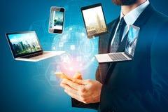 Conceito futuro da inovação Fotos de Stock