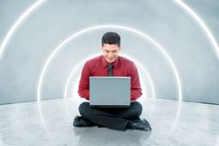 Conceito futuro da tecnologia imagens de stock royalty free