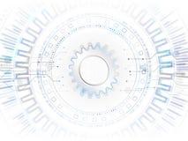 Conceito global abstrato da tecnologia Communicati do Internet de Digitas Imagens de Stock