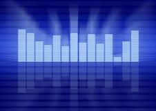 Conceito gráfico do equalizador Fotos de Stock