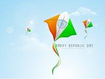 Conceito indiano da celebração do dia da república Fotos de Stock