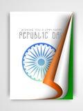 Conceito indiano da celebração do dia da república Fotografia de Stock Royalty Free