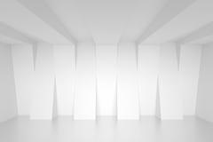 Conceito industrial moderno ilustração 3d do interior abstrato Imagens de Stock Royalty Free