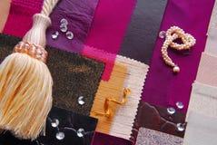 Conceito interior da seleção do projeto da cor Imagem de Stock